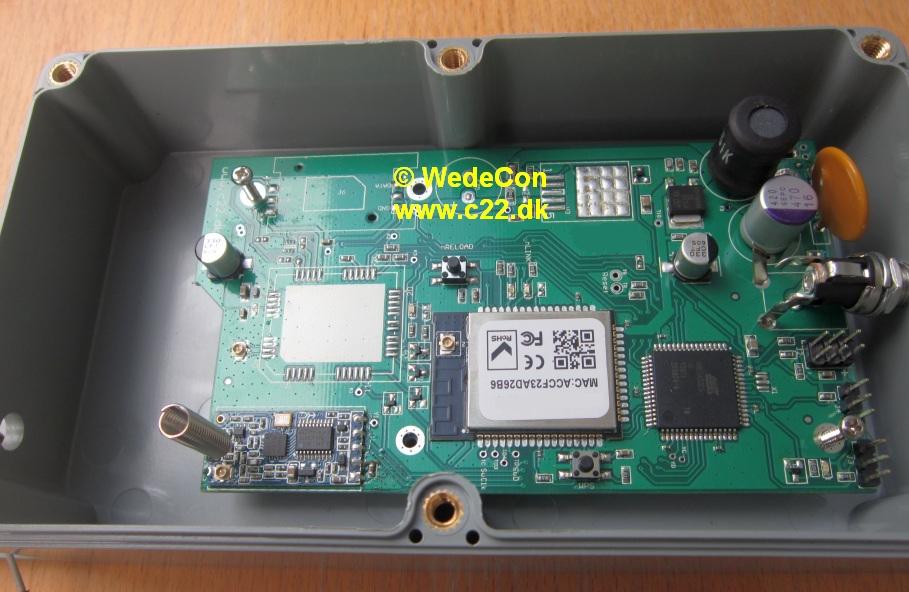 GSM Wi-Fi LoRaWAN Gateway elektronikudvikling.